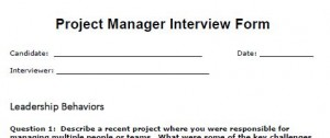 project management interview guide