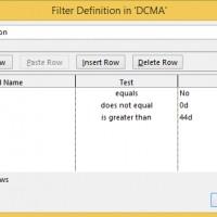high duration filter