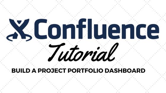 confluence tutorial portfolio status report