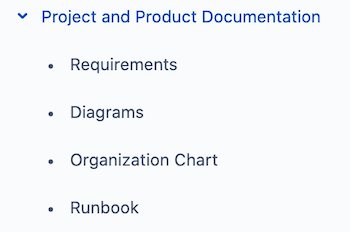 project documentation management atlassian confluence