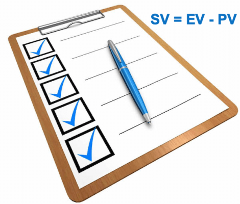 earned value management checklist