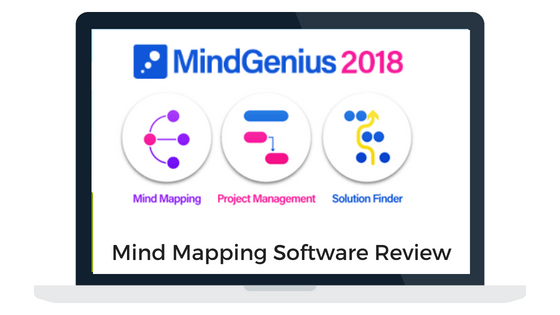 MindGenius 2018 mind mapping software