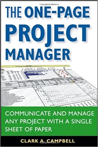 project management book neal whitten