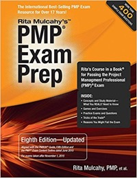 pmp exam prep certification book 2