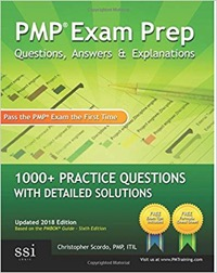 pmp exam prep certification book 3