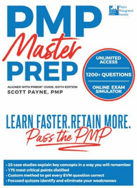 pmp exam prep certification book