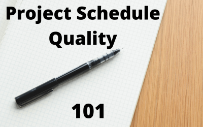 Project Schedule Quality 101: 14 Ways to Improve Your Project Schedule