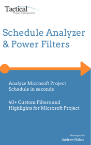microsoft project schedule analyzer