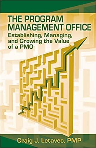 the project management office craig letavec